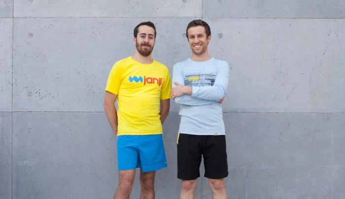 Janji Running founders: Dave Spandorfer and Mike Burnstein (photo credit: Janji)