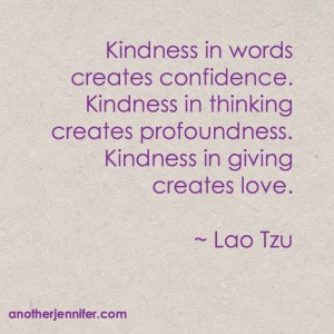 Wordless Wednesday: Kindness In Giving Creates Love