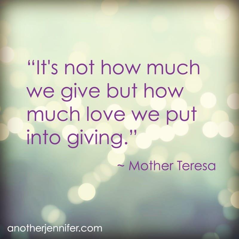 motherteresagiving