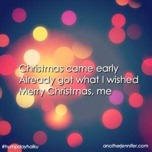 christmas haiku