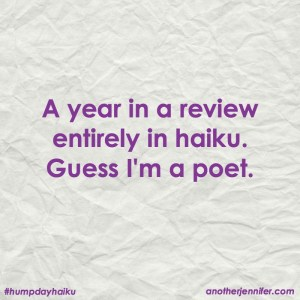My 2016 Year in Review in Haiku