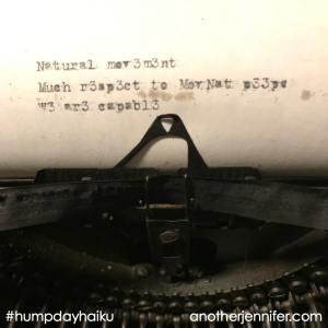 Hump Day Haiku: A #NaturalMovement Haiku