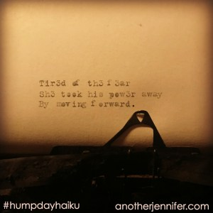 tired of the fear haiku