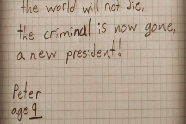 new president haiku
