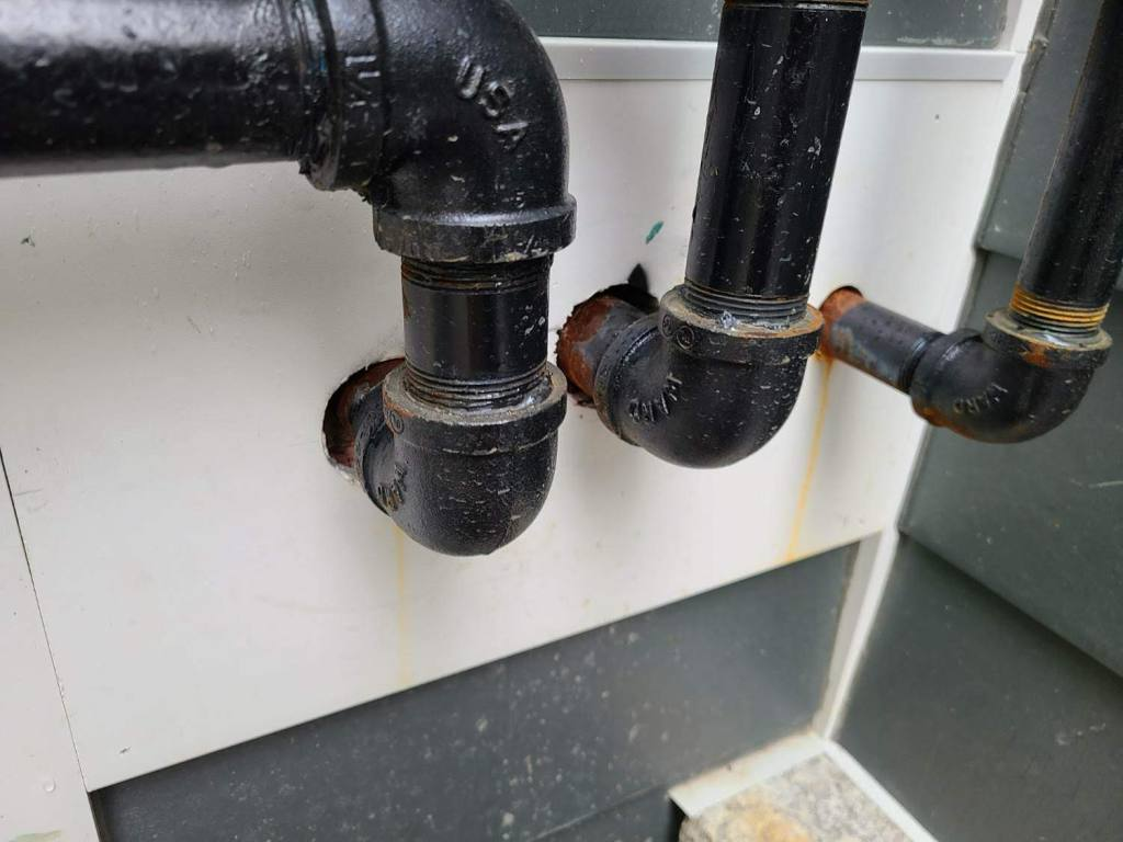 Pipes From Home Inspection