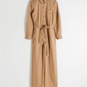 Belted Cotton Boilersuit ($99)