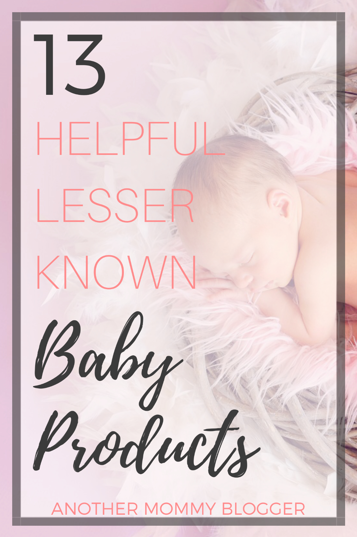13 Helpful Lesser-known Baby Products
