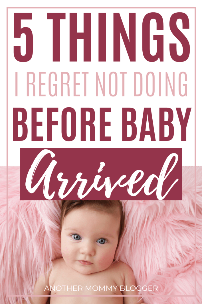 I'm sure you have a lot on your pregnancy checklist already. I just wanted to let you know as a first time mom I didn't do these things before baby came. But I really wish I had. #babytips