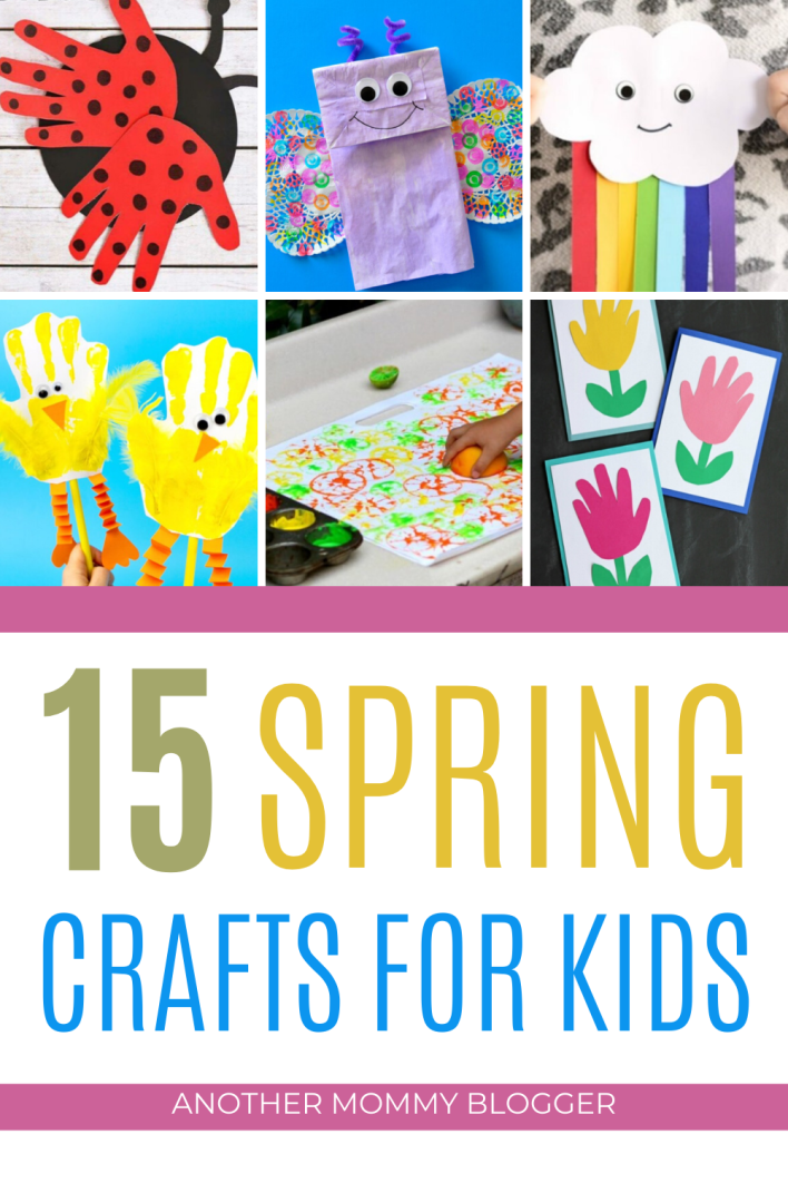 Looking for fun activities for kids? Try these spring crafts for kids for some creative fun this springtime. #kidscrafts #springcrafts