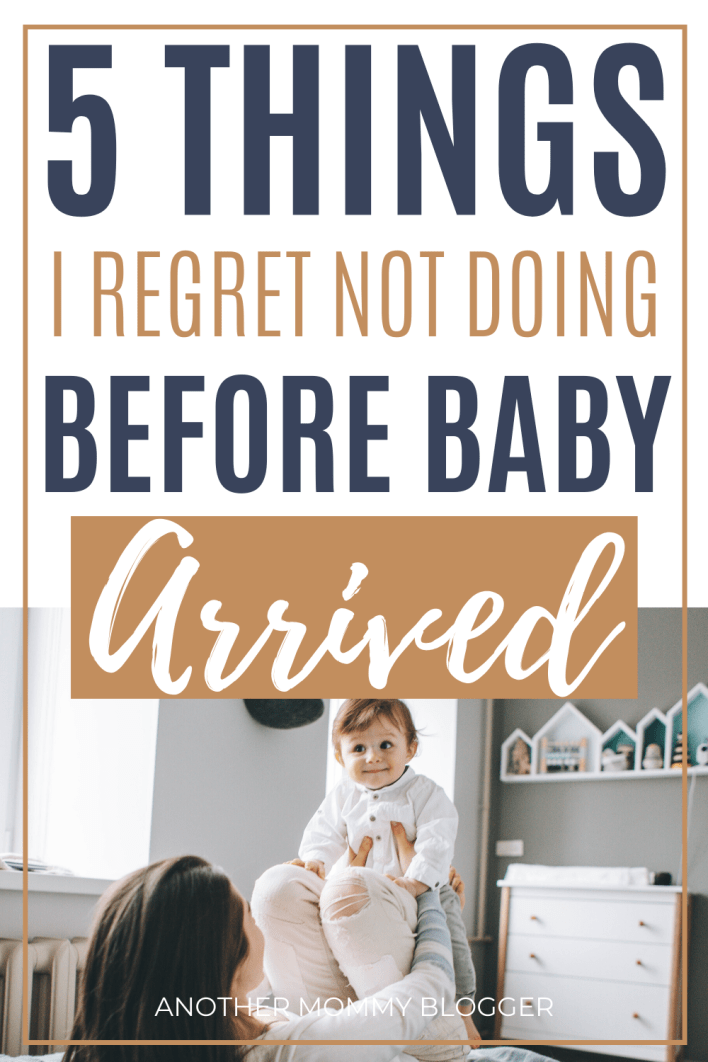 From nursery decor to stockpiling diaper, pregnant moms have a lot to do. I wish I had done these things before my baby arrived. #babytips #pregnancy
