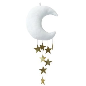 Moon And Stars Nursery Hanging Moon