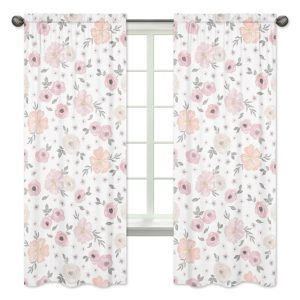 Floral Nursery Curtains