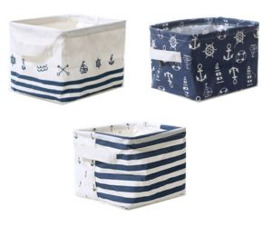 Nautical Nursery Toy Baskets