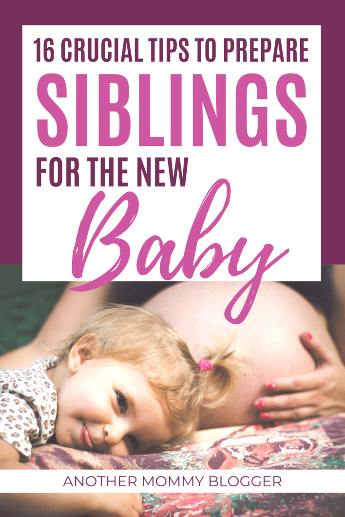 If you don't know how to prepare siblings for a new baby then you need these parenting tips from moms who have been there. These are tips for soon to be second time moms who need to get their child ready for the birth of a new baby. #newbaby #secondbaby #siblings #parentinghacks
