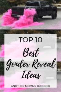 Top Ten Best Gender Reveal Ideas