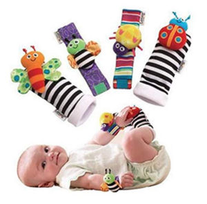 Sock and wrist rattles