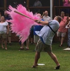 Baseball Gender Reveal
