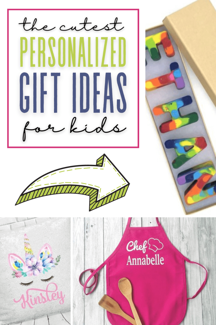 These are cute personalized gifts for kids. These make great gifts for girls or boys.