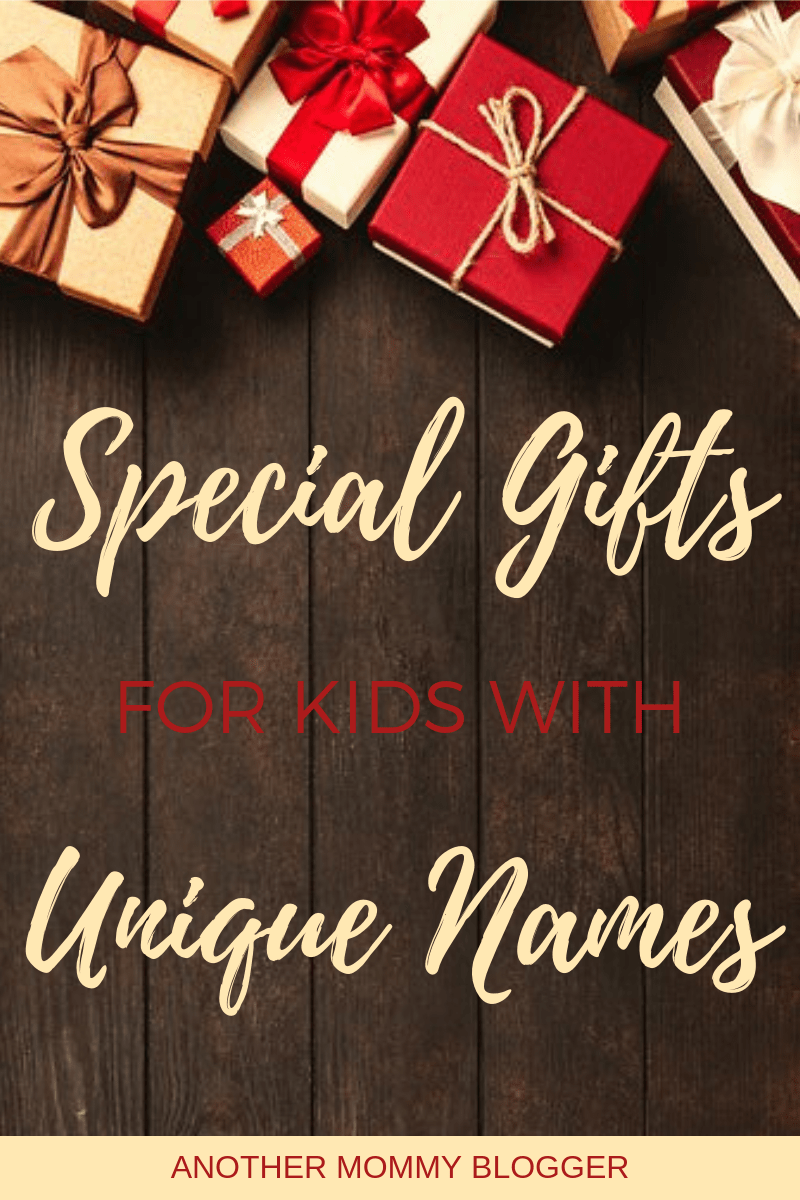 Personalized gifts for kids with unique names