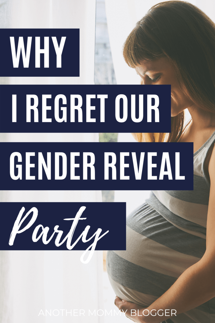 I regretted my gender reveal party. It was the food of the decorations it was... #genderrevealparty