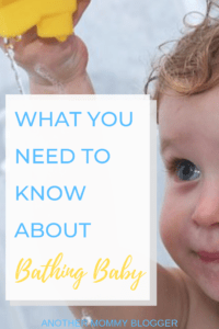 Baby's First Year Bathing Tips