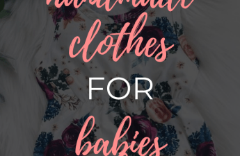 Adorable Handmade Clothes For Babies And Toddlers