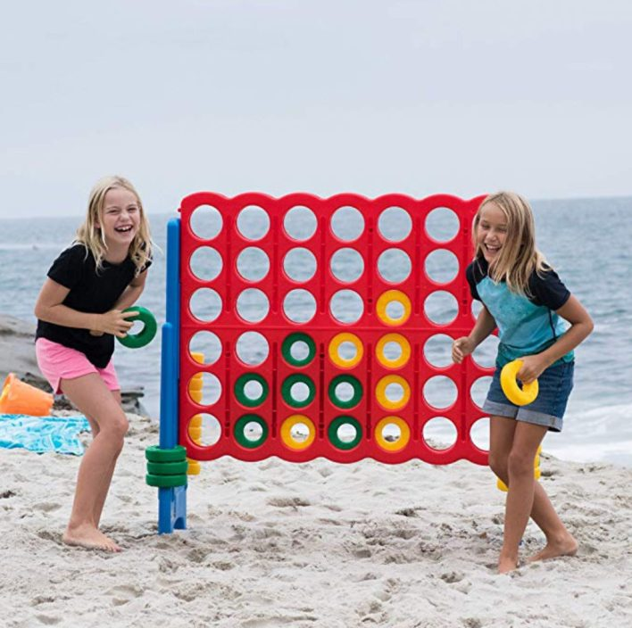 Giant connect four outdoor toys