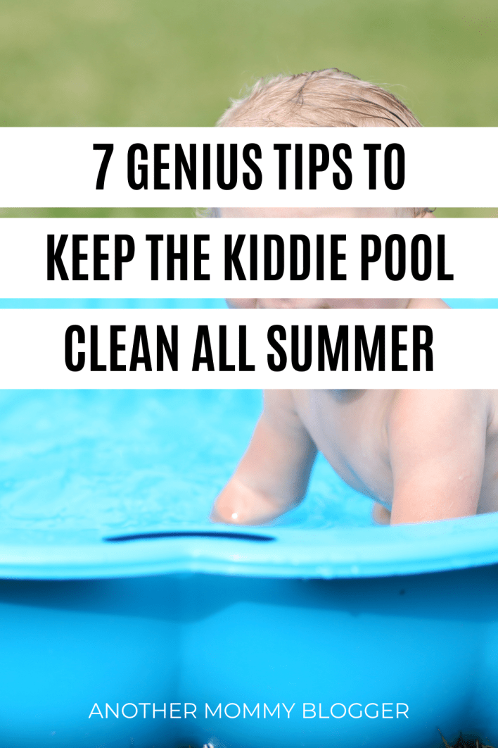 Clever cleaning hacks parents need to know for keeping a kiddie pool clean.