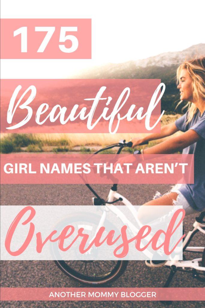 Uncommon beautiful baby girl names