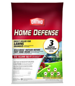 Insect killer for lawns