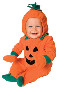 Toddler Pumpkin Family Halloween Costumes