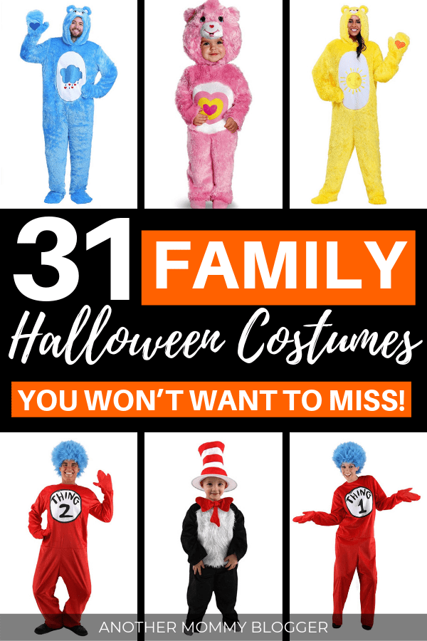 31 Family Halloween Costumes. Choose one of these Halloween costume ideas for families of three, four, and more!