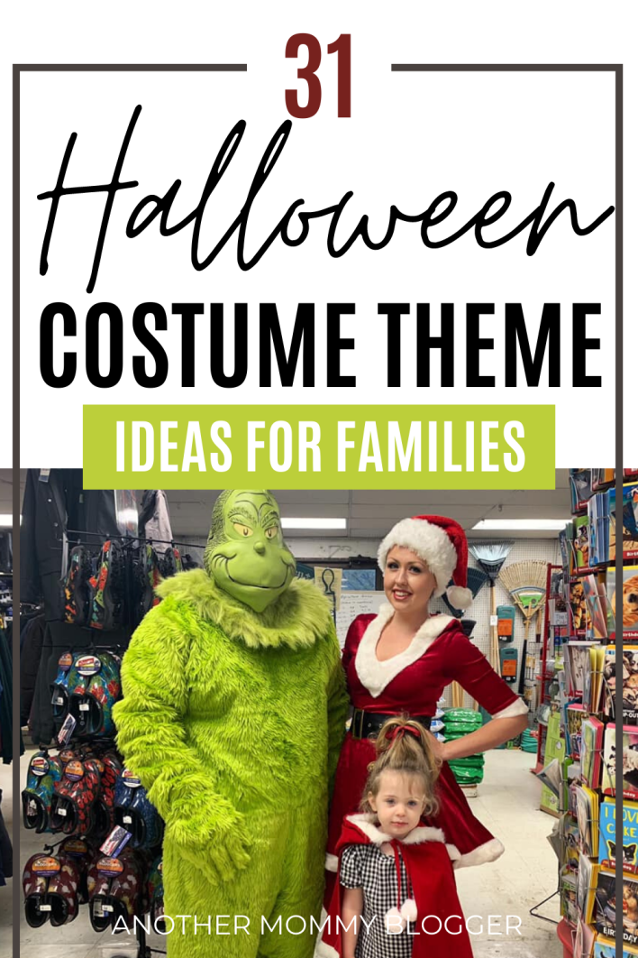 These group costume ideas for families will have your family looking so cute this Halloween. #halloweencostumes #familycostumes
