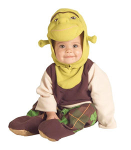 Baby Shrek Costume