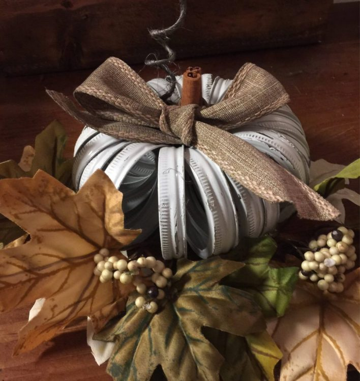 Rustic Mason Jar Fall Decor
