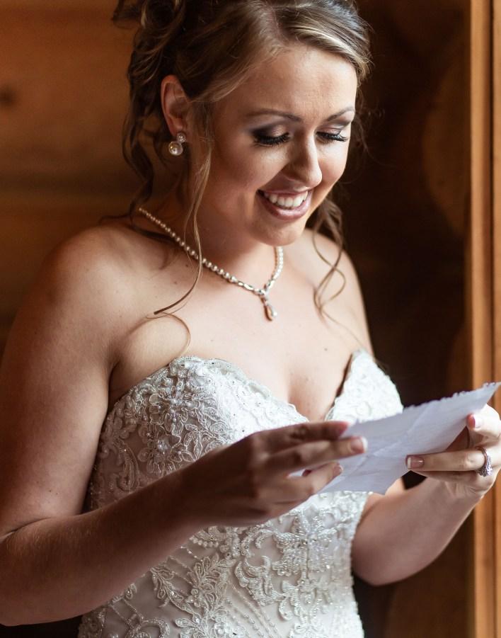 Fiancé's Note To Bride Wedding Ideas