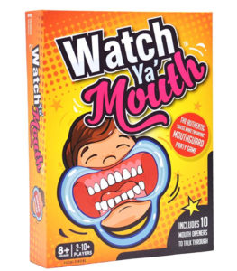 Watch Ya' Mouth Game For Family Game Night