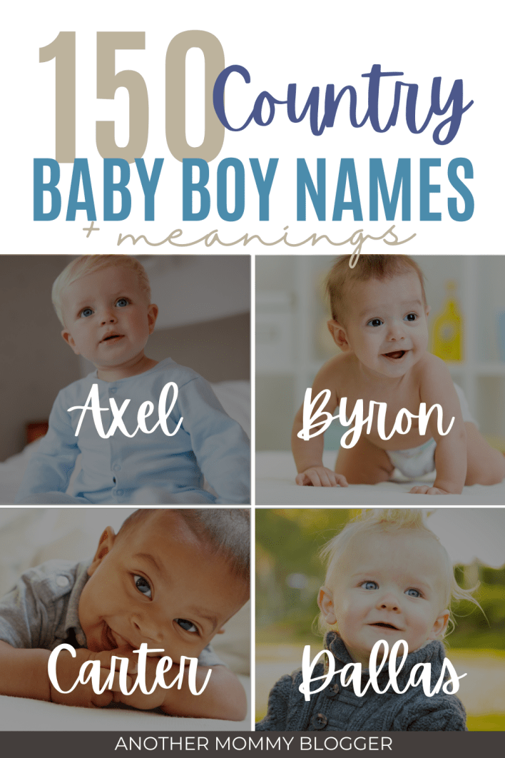These classic southern boy names have all the charm. These are country names for boys you'll love. Check out these first and middle boy names with meaning.