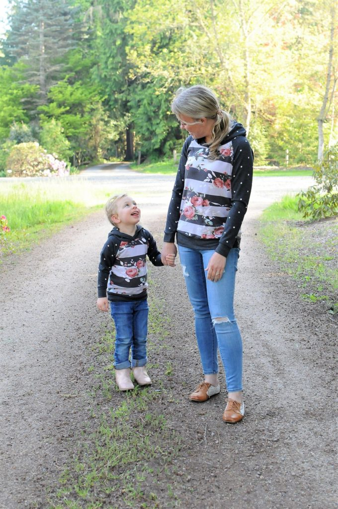 Mommy and me hoodies