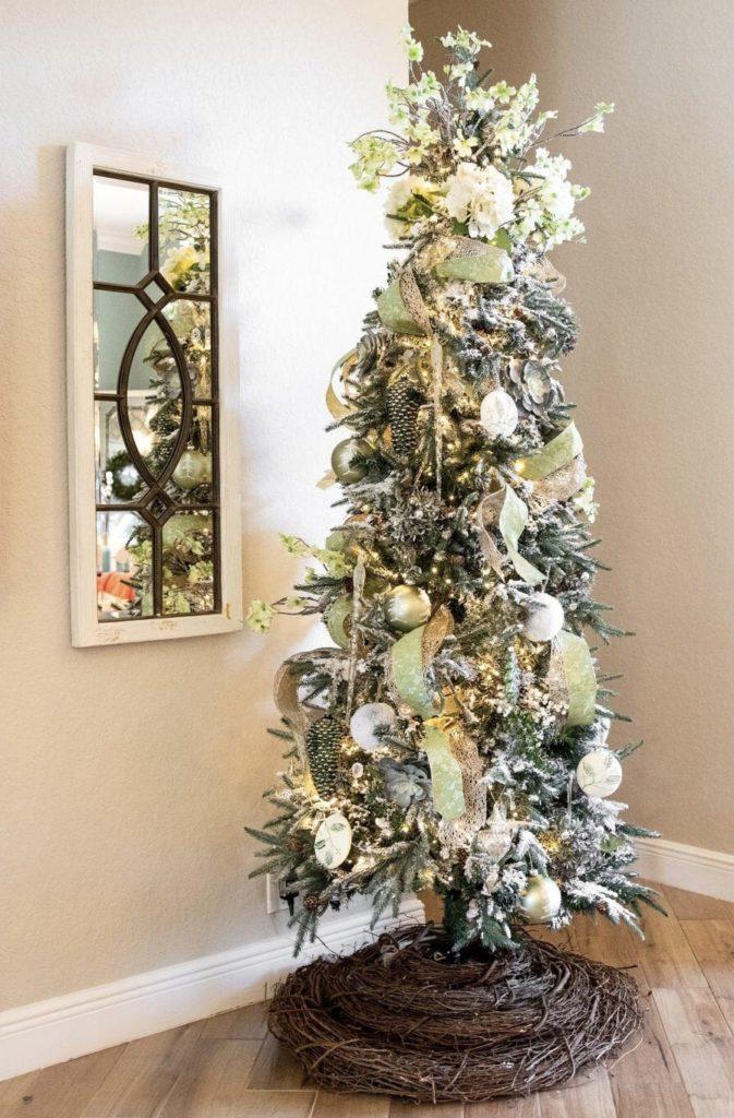 Green Christmas Tree Set