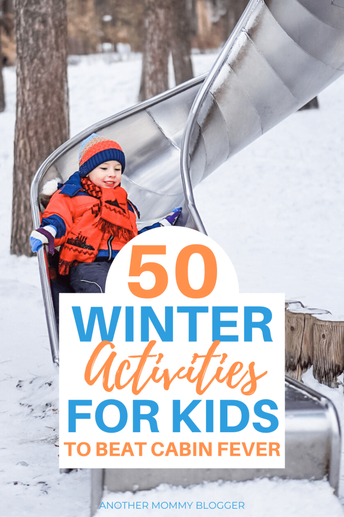 Are you looking for things for kids to do in winter? These winter activities for kids will keep them busy all winter long. #winter #kidsactivities