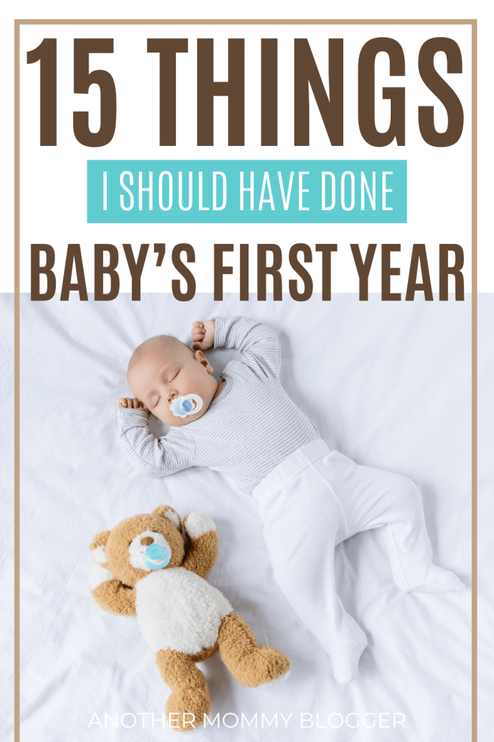 What to do with baby the first year. #babytips