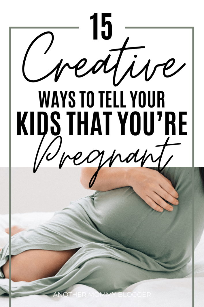These are super cute and simple pregnancy announcements. This is a list of ways to tell your kids you're pregnant. Need baby announcement to kids ideas? You'll find unique pregnancy announcements and simple ways to tell your kids you're expecting.