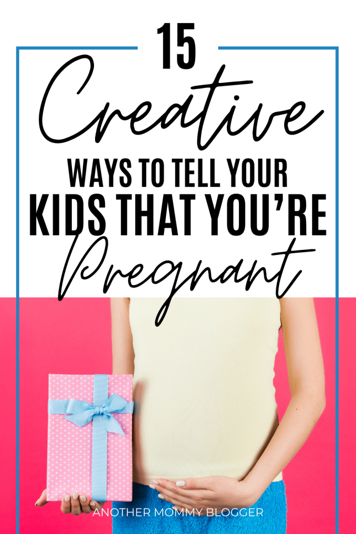Have you seen these new pregnancy announcement to kids ideas? These are super cute and unique ways to tell your kids you're pregnant. Try these baby announcements to siblings when you tell your kids about the new baby.