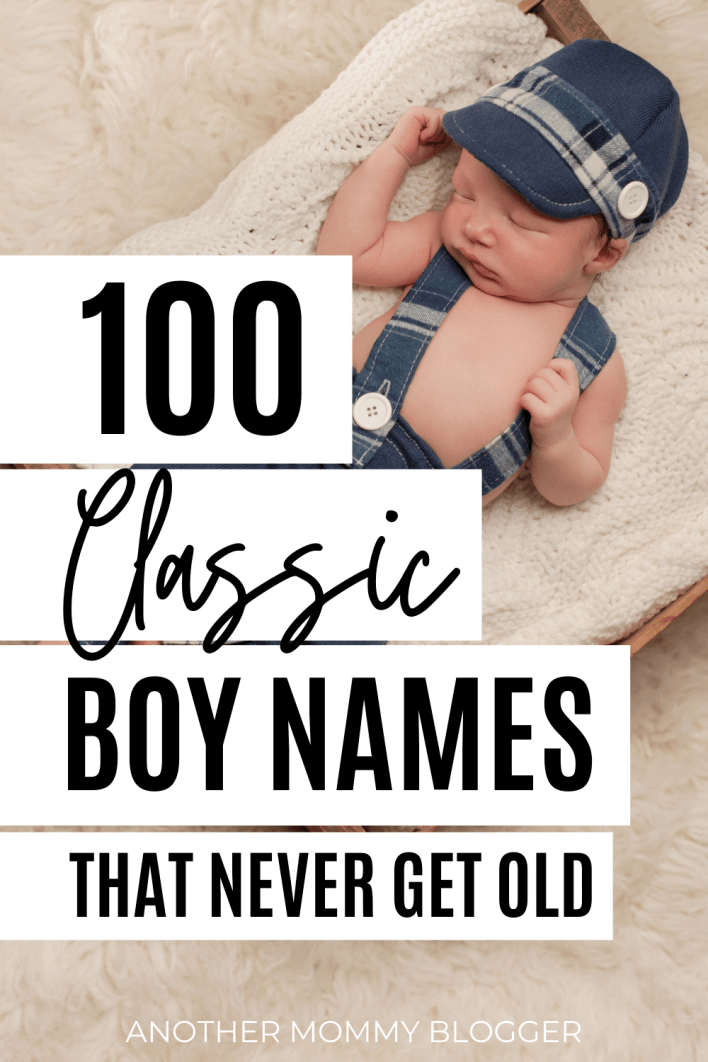 You'll love these vintage boy names on this baby boy names list. These are old fashioned names for boys that never go out of style. If you're looking for old man names for boys you'll find one here.