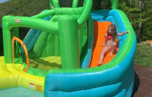 Little Tikes Waterslide Bounce House