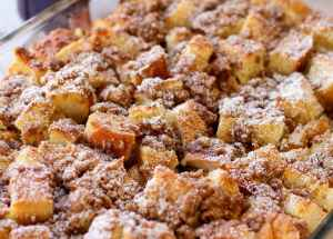 Make Ahead French Toast Bake