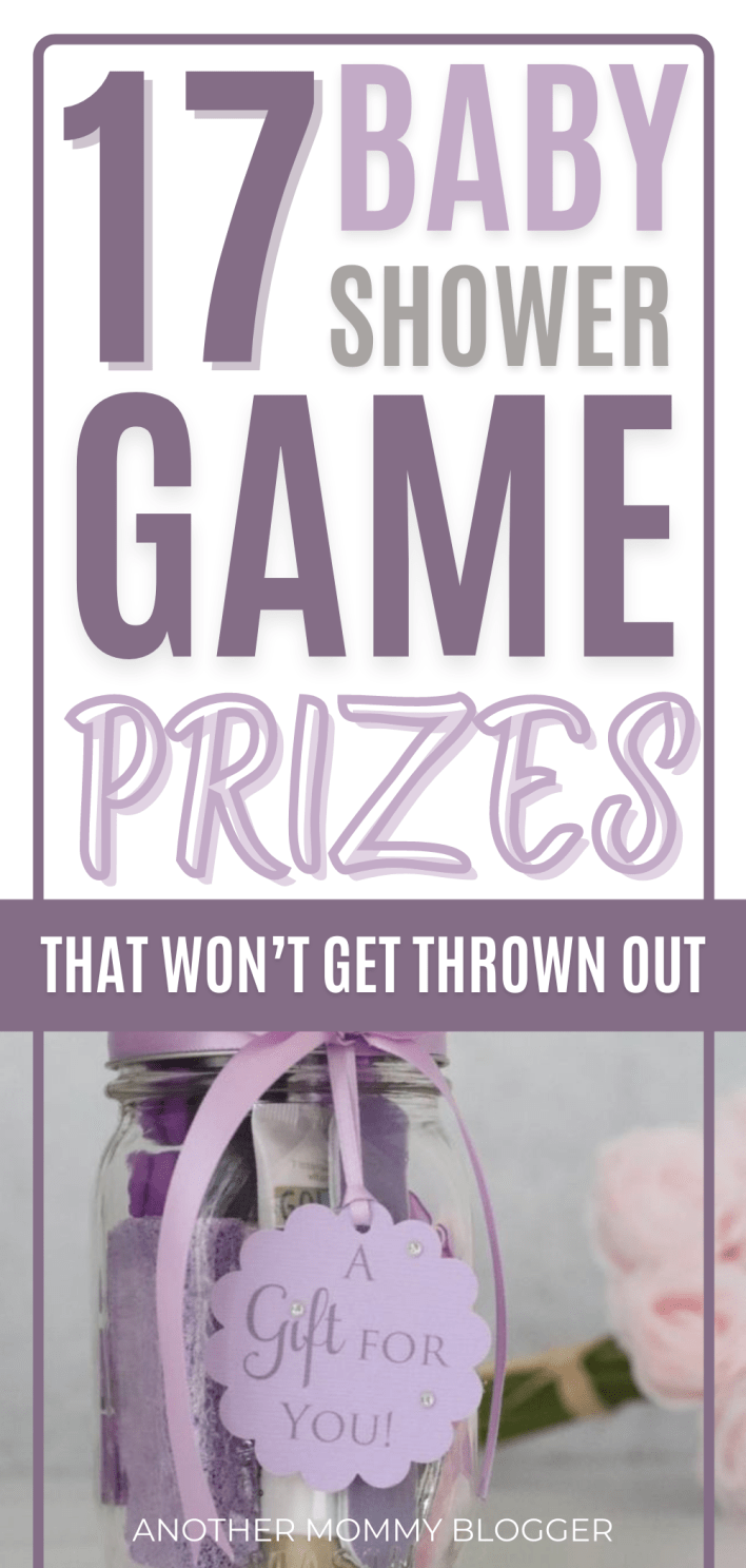 If you just don't;t know what to give as prizes for baby shower games then take a look at this list of baby shower game prizes people actually want. #babyshower