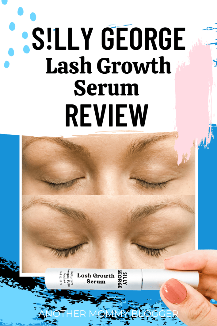 This is my silly George lash growth serum review. Come see my before and after photos. #sillygeorgeserum #lashes