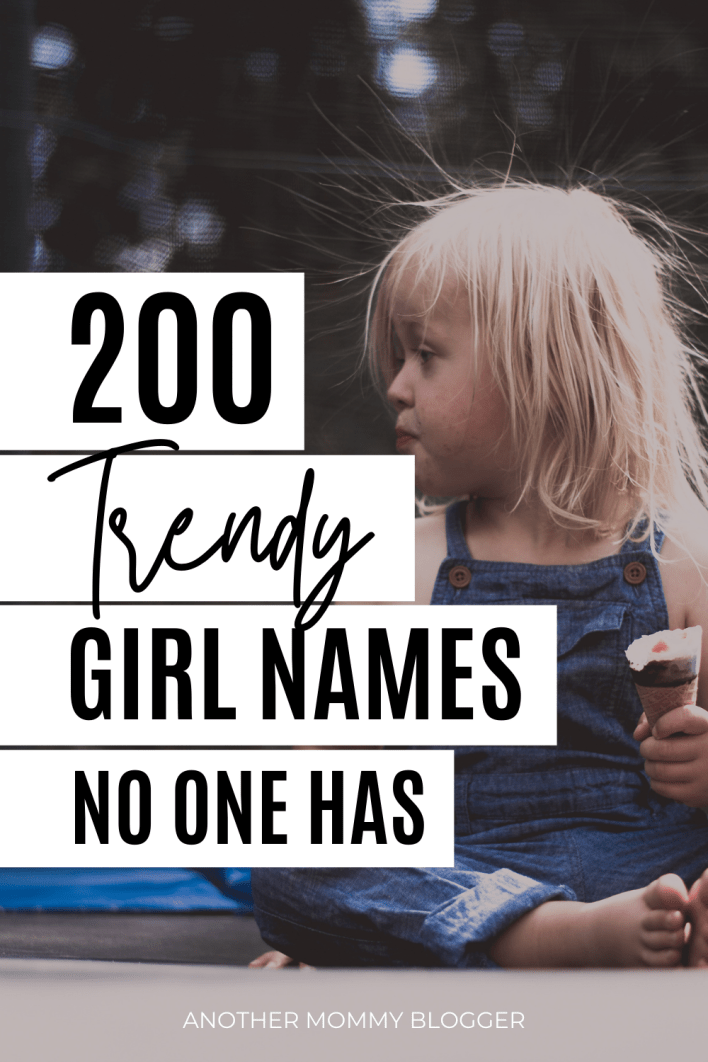 Looking for trendy girl names? Check out this list of unique girl names. These are uncommon names for girls with meanings.